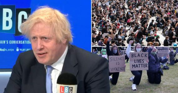 Boris would not take the knee for Black Lives Matter as 'I don't believe in gestures