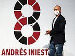 Andres Iniesta signs new two-year deal with Vissel Kobe on his 37th birthday