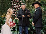 Blake Shelton officiates wedding of Trace Adkins and Victoria Pratt in New Orleans ceremony