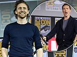 Tom Hiddleston joins British hunk Benedict Cumberbatch for Marvel Panel at San Diego Comic-Con