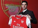 Mikel Arteta is CONFIRMED as the new Arsenal boss as he leaves role as Man City No 2