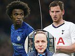 Willian, Vertonghen and Co can 'walk away' mid-season when deals expire, says leading sports lawyer