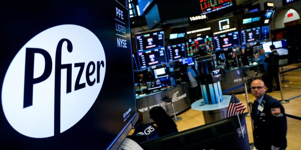 Pfizer tanks 8% after halting breast-cancer treatment trial on lowered hopes for success