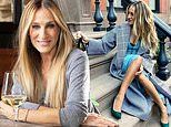 Sarah Jessica Parker is seen wine tasting her own brand