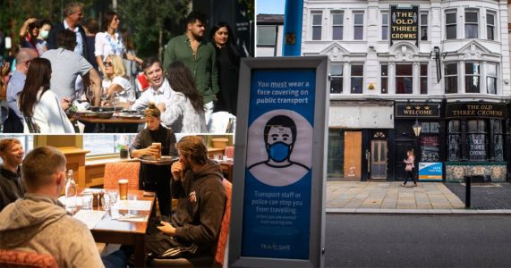 Pubs and restaurants responsible for just 3% of outbreaks before curfew introduced