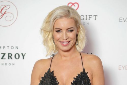 Denise Van Outen leads celebrities arriving at secret Dancing on Ice audition