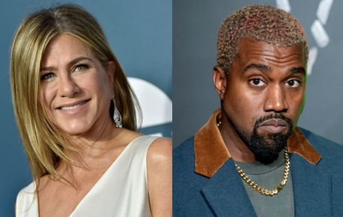 """Jennifer Aniston tells America """"it's not funny"""" to vote for Kanye West"""