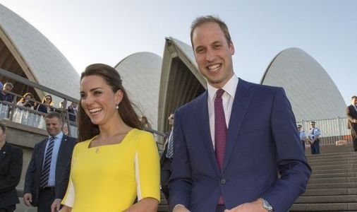 William and Kate praise Australia's first responders