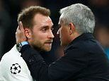 Jose Mourinho vows not to betray Christian Eriksen's trust by discussing private talks