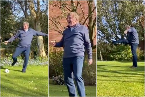 Sir Kenny Dalglish nails it with unique take on the StayHomeChallenge