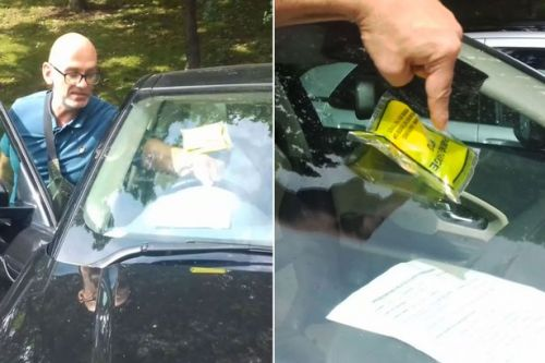 Dad slams 'disgraceful' traffic warden after getting £75 fine while visiting sick son