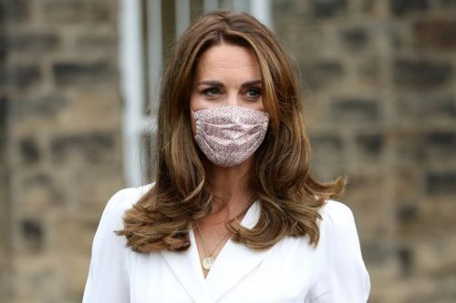 Kate Middleton wears face mask after being moved to tears by families' struggles