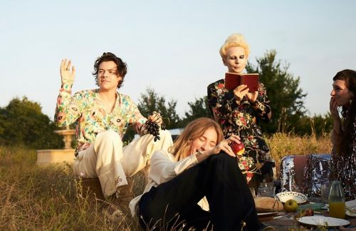 Harry Styles Is the Face of Gucci's New Fragrance