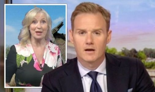 Carol Kirkwood calls Dan Walker out for mistake 'You're pinching my time!'