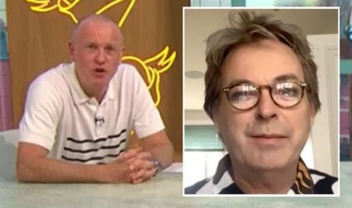 Sunday Brunch host Tim Lovejoy roasted by Julian Clary: 'What's your name again?'
