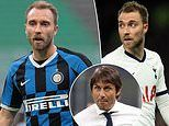 Inter boss Antonio Conte warns Christian Eriksen he must forget Tottenham heroics after dropping him