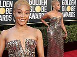 Golden Globe Awards 2021: Presenter Tiffany Haddish wears sparkling mirrored dress