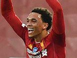 Trent Alexander-Arnold crowned Young Player of the Season ahead of Man United trio