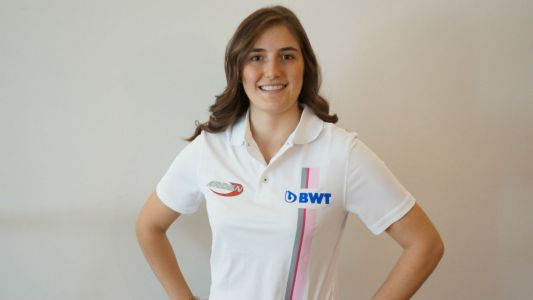 Tatiana Calderon becomes the first female driver in F2