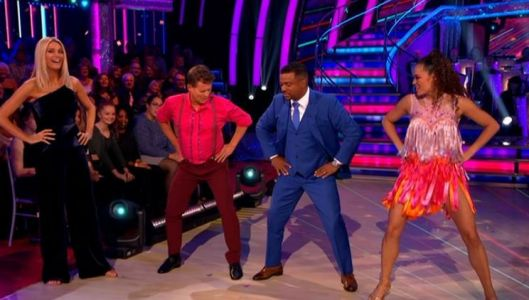 Alfonso Ribeiro revives Fresh Prince Of Bel Air's Carlton dance on Strictly with Mike Bushell