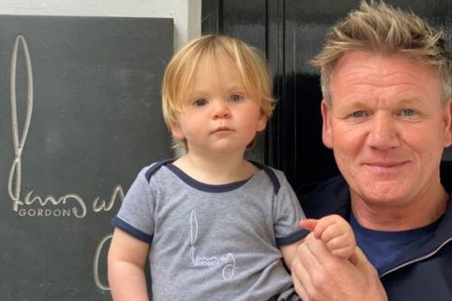Gordon Ramsay takes son to work with him as he prepares to reopen restaurant