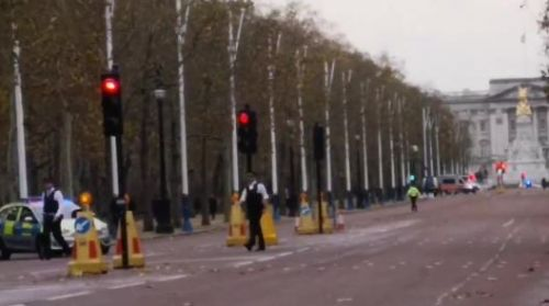Cops swoop on Buckingham Palace after 'abandoned vehicle' security scare