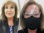 Tracy Grimshaw's hack for stopping glasses from fogging up when wearing a mask