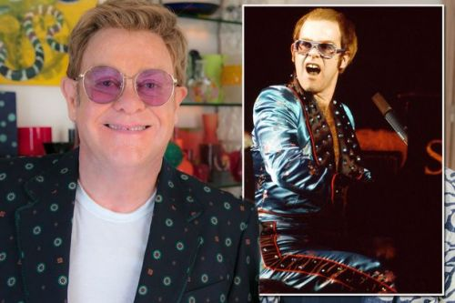 Elton John's farewell letter to cocaine after Freddy Mercury and the Beatles told him to stop
