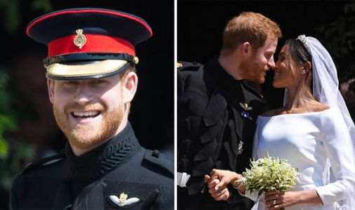 Prince Harry praises Meghan Markle for 'navigating with grace' turbulent week with father
