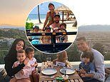 Lionel Messi drives a jeep and Cristiano Ronaldo dines on rooftop as stars enjoy time with families
