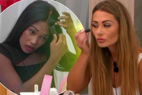 Love Island stars have hairdressers and make-up artists to keep them looking good