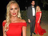 Laura Anderson puts on a VERY cosy display with The Bachelor star Alex Marks at charity ball