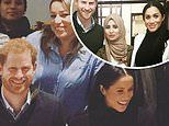 Prince Harry and Meghan Markle laugh in previously unseen pictures of visit to Grenfell kitchen