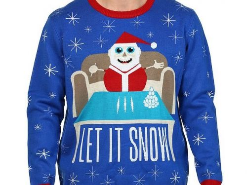 Walmart apologizes for selling a Christmas sweater that showed Santa at a table with lines of white powder and the words 'let it snow'