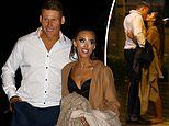 MAFS' Elizabeth Sobinoff spends a romantic evening with beau Seb Guilhaus at Darling Harbour
