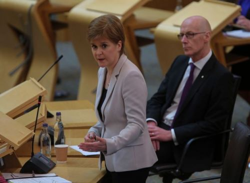 Scottish Students' Grades Will Be Withdrawn And Replaced With Teacher Assessments