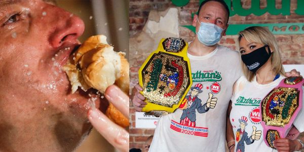 Nathan's Hot Dog Eating Contest champion Joey Chestnut downed a record 75 hot dogs in 10 minutes. Here's the science behind how he does it