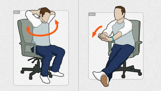 10 crucial desk exercises for designers