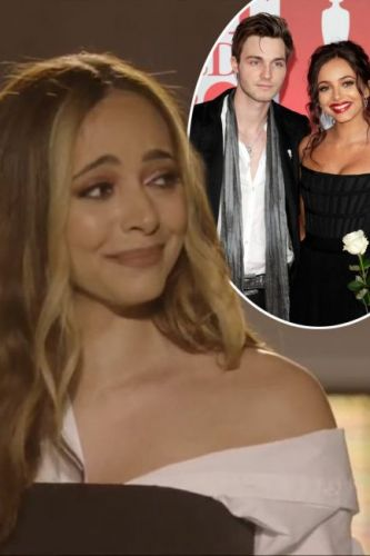 Little Mix's Jade Thirlwall sparks Jed Elliott split rumours as she BREAKS DOWN in tears on stage and has to be comforted by bandmates