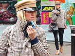 Nicky Hilton is low-key casual in jaunty peaked cap and plaid jacket as she steps out in NYC