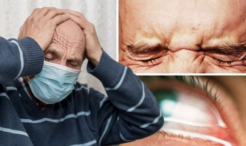 Coronavirus new strain symptoms: The three signs of Covid-19 in your eyes