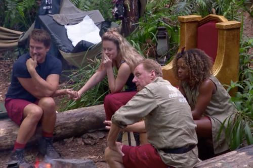 I'm A Celebrity's Fleur East gets the boot leaving Harry Redknapp, Emily Atack and John Barrowman to face off in the final