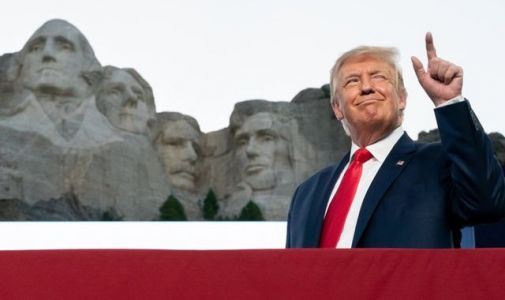 Donald Trump says 'it sounds like a good idea' for his face to be carved onto Mount Rushmore