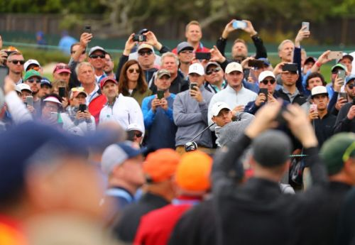 Rory McIlroy encouraged by late fightback after double-bogey blow