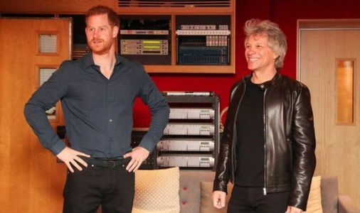Prince Harry 'unable to sing' on special Invictus Games single with Jon Bon Jovi