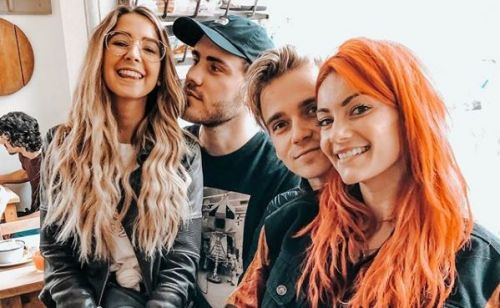 Joe Sugg and Dianne Buswell enjoy cosy double date with Zoe Sugg and Alfie Deyes