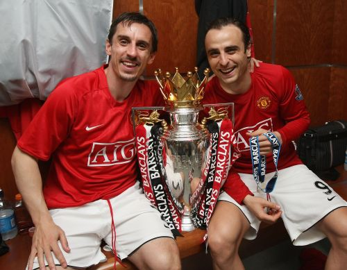 Dimitar Berbatov reveals what Man Utd legends Giggs, Neville and Scholes told him after winning Premier League