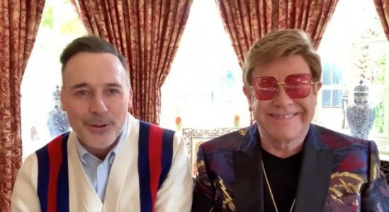 Elton John Shines A Light On How Pandemic Has Affected LGBTQ+ People In LGBT Awards Speech