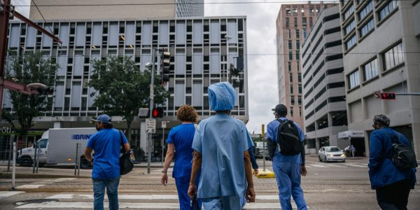 A federal judge just ruled against over 100 Houston hospital workers who will be fired if they don't get the COVID-19 vaccine