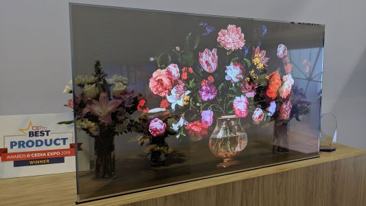 LG Transparent OLED brings the wow factor to CEDIA 2019